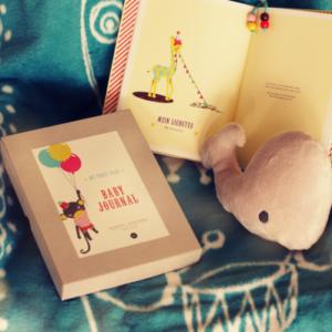 Eine stilvolle, edle Geschenk-Box zur Geburt eines Babies, welche noch lange Freude bereiten wird.