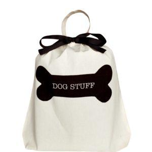 Dog Stuff Bag personalisierbar, ein Geschenk für Hunde Halter