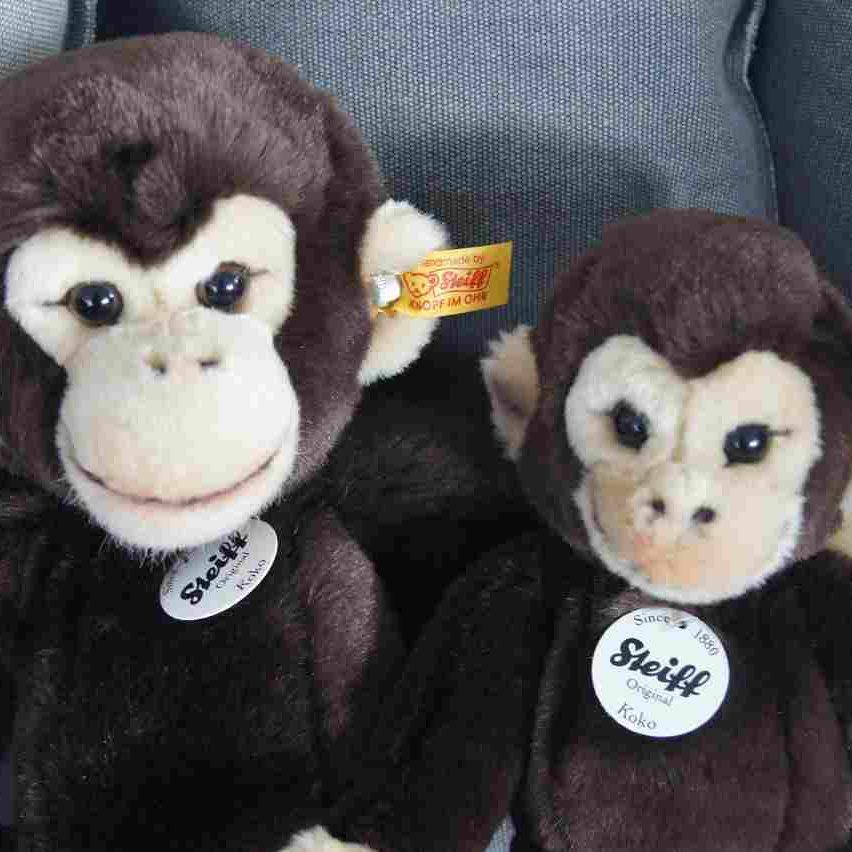 Koko Schimpansen Steiff Stoffera