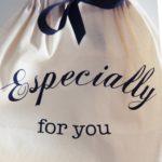 Especially for you Druck auf Geschenkbeutel