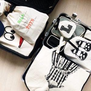 Stilvolles Packen mit Bag-All Produkten personalisierbar