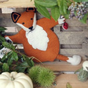 Handpuppe Fuchs Sew Heart Felt