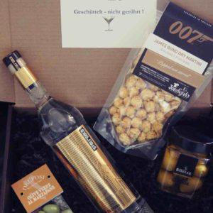 James Bond Drink Geschenk Vodka gold
