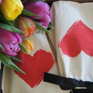 Ein Herz sagt mehr als tausend Worte, liebevolle Geschenke für die Schweiz