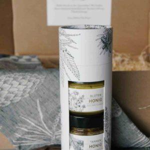 Honig Duo in schöner Verpackung senden