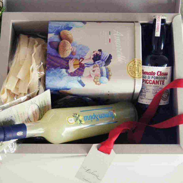 Geschenkbox für Italien Liebhaber