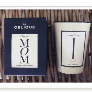 Kerze MOM Thank you Atelier Oblique