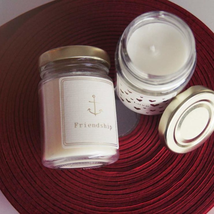 Manchmal will man mit einer Kleinigkeit sagen: Ich hab Dich lieb! Die Mini Kerzen von Moments of Light eignen sich dazu perfekt: