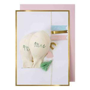 Ballon Karte Hochzeit