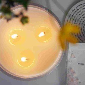 3-Docht Kerze zum Muttertag