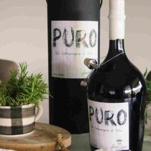 Exklusives Olivenöl in Design Flasche