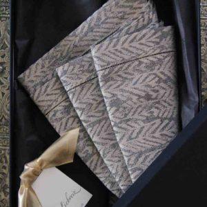 Edel, wertig und bleibend sind diese wundervollen Servietten im 4-er-Set von Leitner Leinen. Ein Geschenk für edles Tafeln!