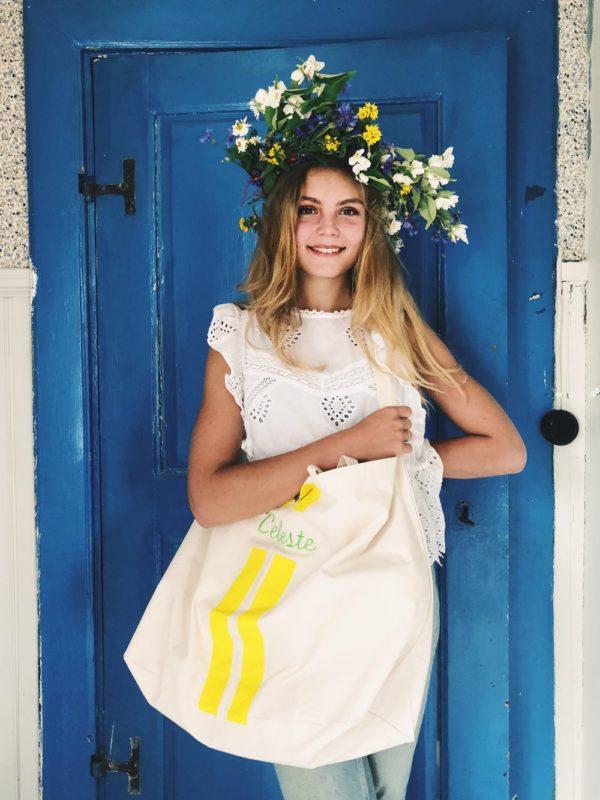 Sommerlich frisch mutet der schöne Bade- oder Shopping-Bag an - bei uns personalisierbar! Wir sind Fan dieser Marke, deshalb finden Sie viele Bag-All Produkte in unserem Schweizer Online-Shop für stilvolles Schenken.