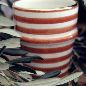 Keramik handgemacht von Silvia Gattin als Geschenk
