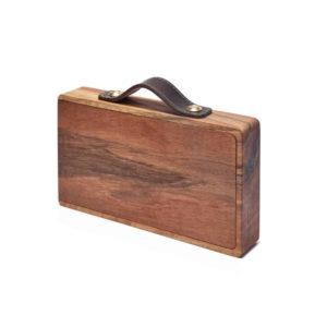 Holzkoffer als Picknick Begleiter