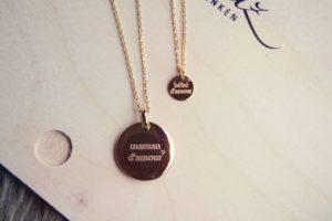 Nouvel amour Goldkettchen mit Amulett