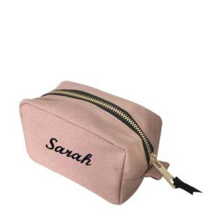 Beautycase rosé personalisierbar