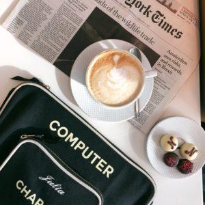 Die Laptop-Tasche von Bag-All ist praktisch und stylisch zugleich.