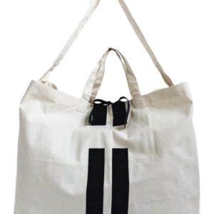Die Shopping- oder Beach-Tasche von Bag-All schwarz ist der ständige Begleiter für den Sommer.