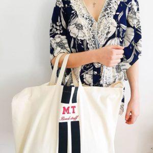Als Beach-Tasche oder grosser Shopping-Bag eignet sich die personalisiertere von Bag-All besonders gut.