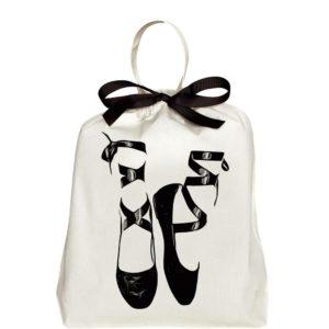 Personalisierterer Beutel für kleine Ballerinas oder Tanzfans.
