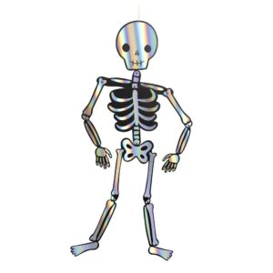 Halloween Dekoration Giant Skeleton im 3-er Pack von Meri Meri.