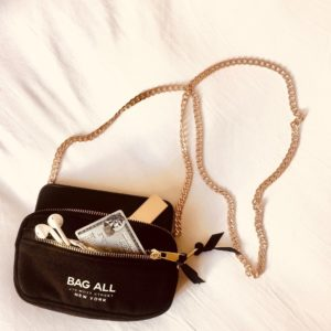 Mini Tasche Bag-All black