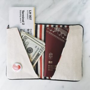 Reisepass Halter personalisierbar von Bag-All New York als stilvolles Reise Accessoire