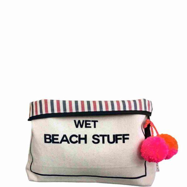 Ideal für an den Strand, die Badi oder ins Fitness: die Wet Stuff Bag für nasse Badekleider